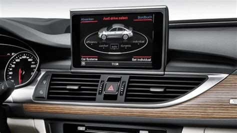Audi A6 C7 Mmi by Audi A6 C7 2012 Current 3g Mmi Plus Integrated Touch
