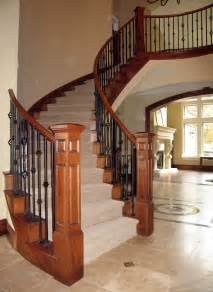 Wooden Banisters For Stairs Iron And Wood Stair Railing Deck Railing Ideas At Http