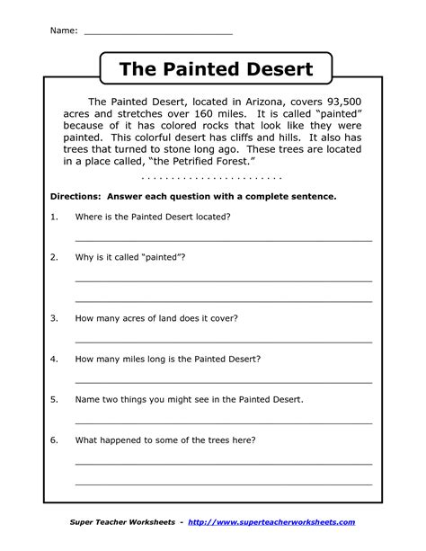 free printable worksheets literacy free printable second grade reading comprehension