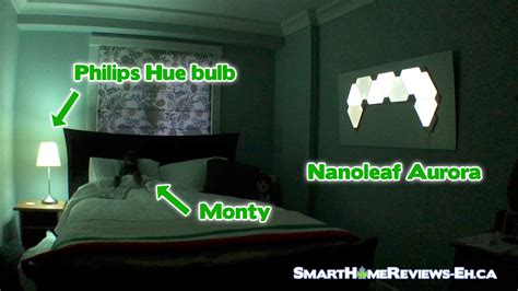 in the bedroom review nanoleaf aurora vs philips hue what do you use in the