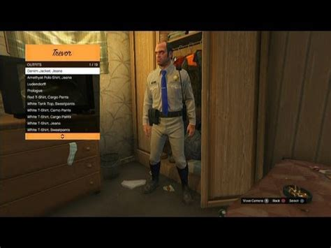 gta v all outfits unlocked after storyline youtube