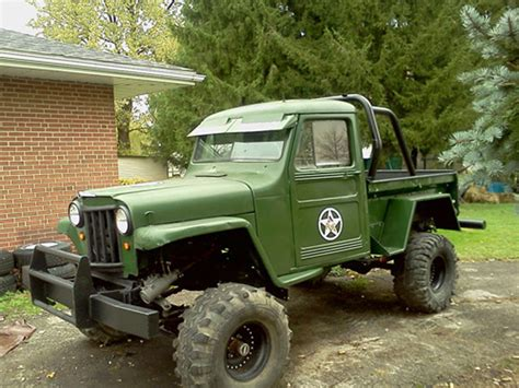 willys jeep truck green 1957 jeeps parts html autos post