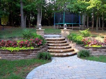 sloped backyard designs 79 best images about slopes on pinterest hillside landscaping backyards and terrace