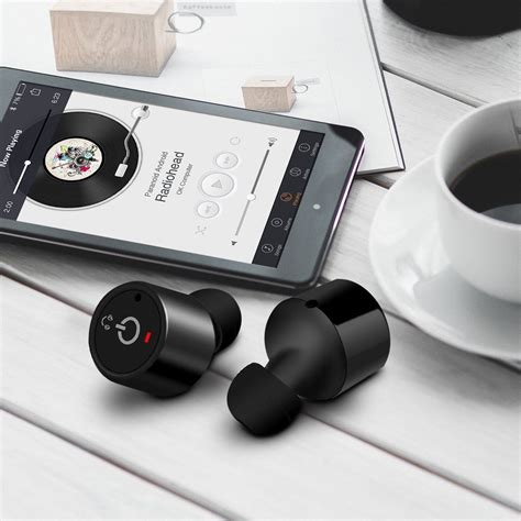 True Wireless Earphone Bluetooth Stereo X1t true wireless elegiant x1t bluetooth stereo headphones earbuds with mic voice prompt