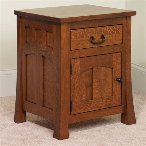 Amish Country Mission Nightstand From - custom amish made bridgeport mission nightstand