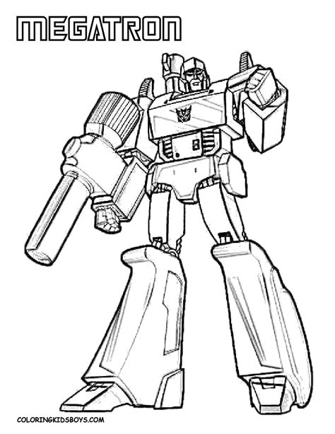 megatron transformers coloring pages gt gt disney coloring pages