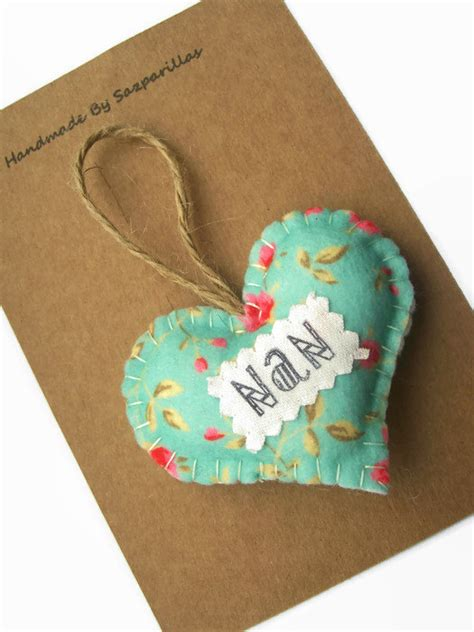 Personalised Handmade Gifts - gifts for nan mothers day personalised by sazparillas