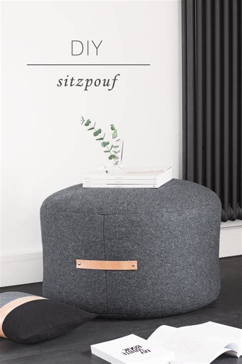 no sew pouf ottoman 17 best ideas about diy pouf on pinterest floor pouf