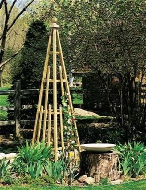 how to build a trellis for climbing plants 1000 images about gardening on bird baths