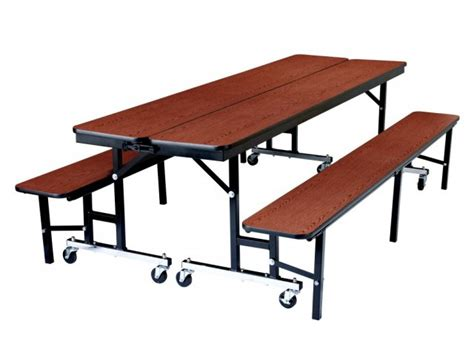 cafeteria bench convertible bench cafeteria particleboard t mold 8