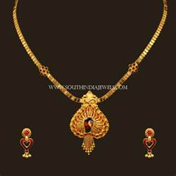 Designs With Price Gold Necklace Set Designs With Price South India