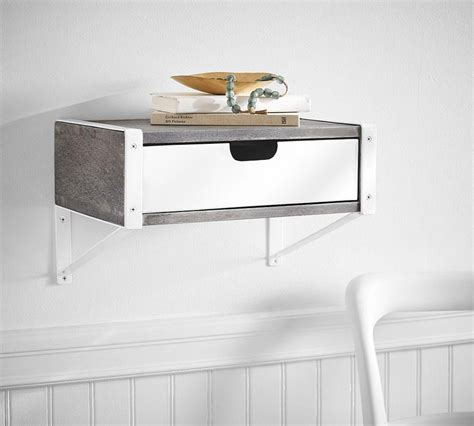 Display Wall Shelf With Drawer Pottery Barn Au Wall Shelves With Drawers