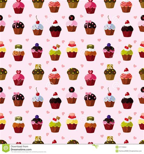 seamless pattern cake seamless cake pattern stock images image 21110594