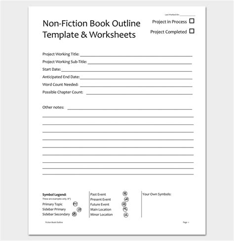 Book Chapter Outline Template by Novel Outline Template 11 For Word Excel Pdf Format