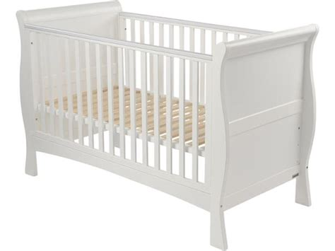 Sleigh Cot Bed Izziwotnot Bailey Sleigh Cot Bed Cot Bed Review Which