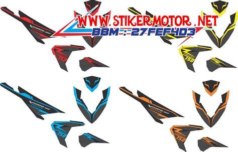 Stiker Decal Striping Motor Aerox 155 King Kong Robot Grade A striping motor vario esp 125 carbon stikermotor net stikermotor net