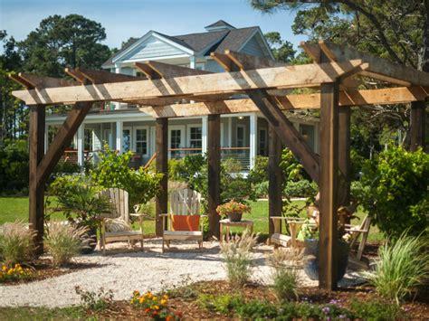 maximum  outdoor structure projects pergola hgtv