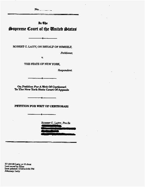 appellate brief template appellate brief cover page template