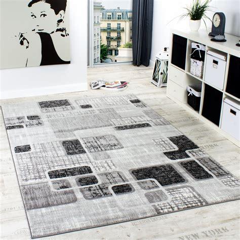 wohnzimmer teppich grau designerteppich wohnzimmer teppich retro stil shabby chic