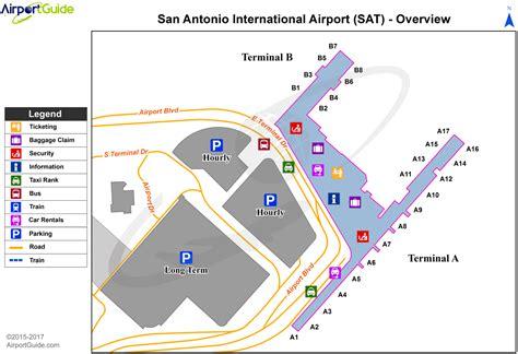 texas airport terminal map san antonio san antonio international sat airport terminal maps travelwidget