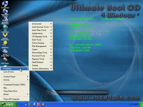 reset windows xp password ultimate boot cd 10 great tech tools that boot from a cd thetechmentor com