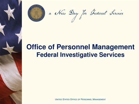Office Of Personel Management by Ppt Office Of Personnel Management Federal Investigative