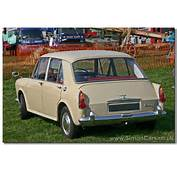 Austin 1100 MkI Rear Cars Were