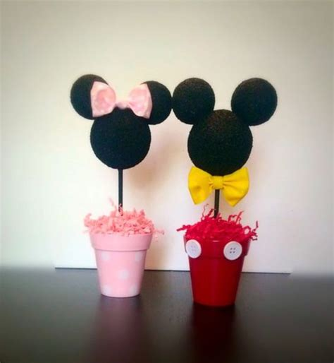 mickey mouse clubhouse centerpiece ideas mickey and minnie inspired centerpiece minnie and mickey