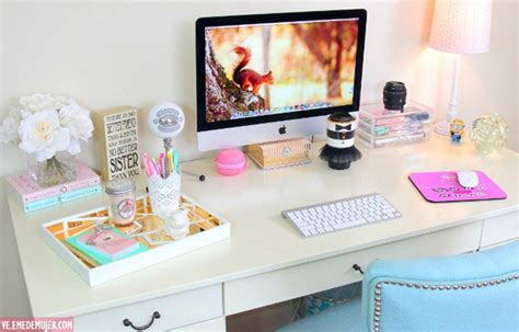 como decorar un escritorio de oficina 4 ideas para decorar tu escritorio blogueras