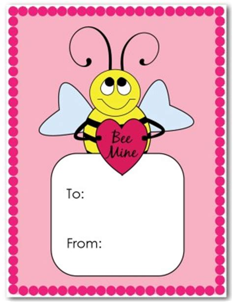 children s day card template printable valentines day card template