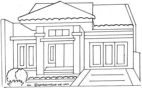 anime rumah hantu gambar rumah minimalis untuk mewarnai decor ideas