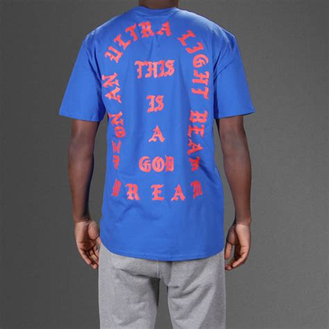 Kaos T Shirt Tshirt Pablo blue i feel like pablo t shirt wehustle menswear womenswear hats mixtapes more