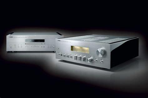 yamaha unveils  stylish  audiophile amplifier  cd