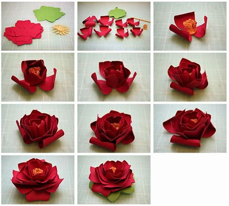 How To Make 3d Flowers Out Of Paper - bits of paper 3d paper flowers continued