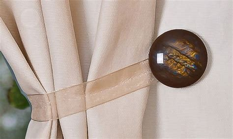 diy curtain holdbacks magnetic curtain holdbacks this seems like an easy diy