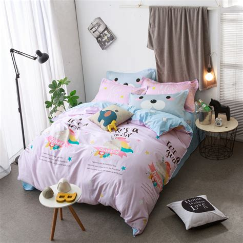 unicorn bedding sets online get cheap unicorn bedding full aliexpress com