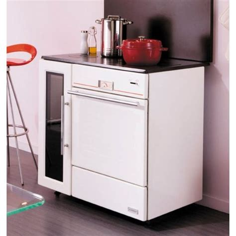 Cuisiniere Induction 134 by Godin Cuisini 232 Re 224 Bois 12kw Blanc 240156b Achat