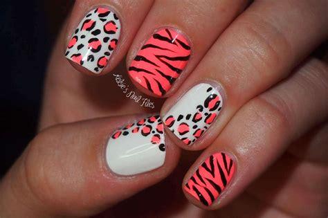 Cheetah Nail Designs