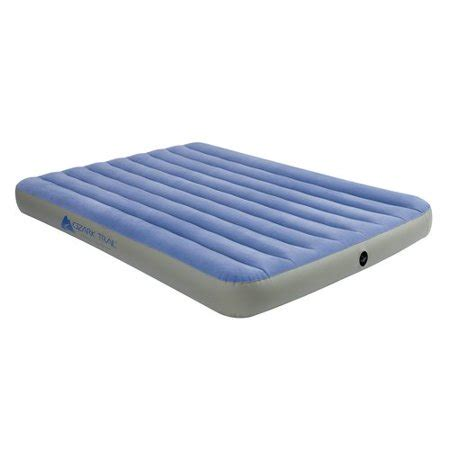 ozark trail fabric airbed walmart