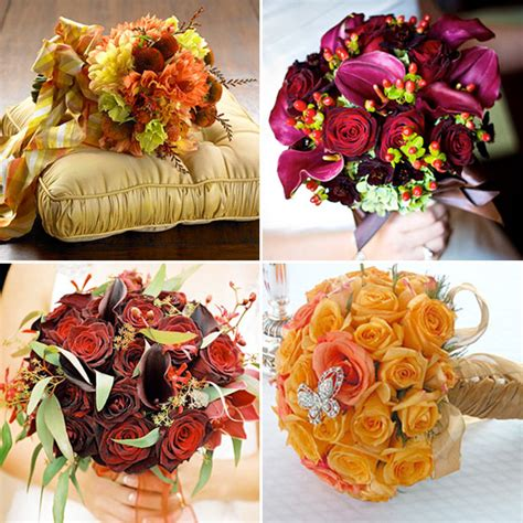 fall wedding flower ideas pictures autumn wedding flower ideas itakeyou wedding