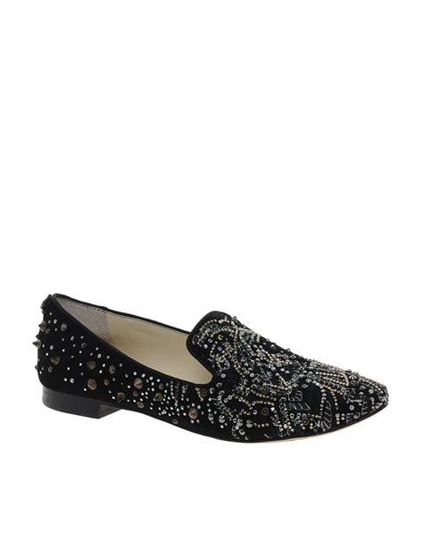 sam edelman slipper lyst sam edelman avalon studded slipper shoes in black
