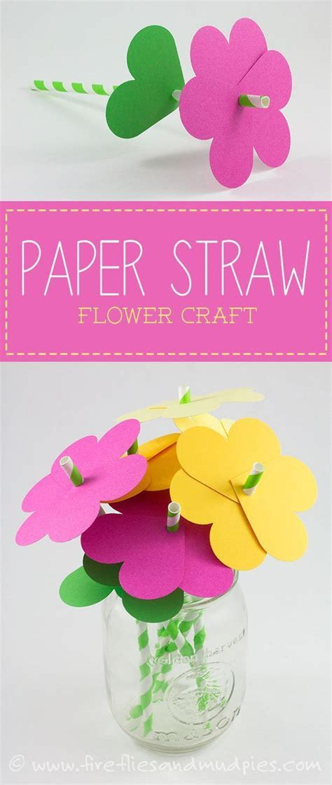 Paper Straw Crafts - 17 best ideas about fireflies on forest bugs