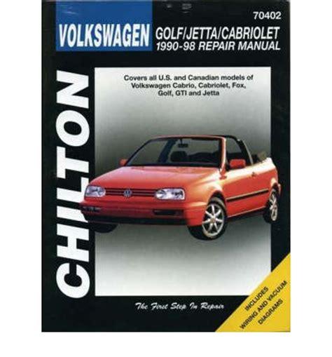 online car repair manuals free 1999 volkswagen golf electronic throttle control volkswagen golf jetta cabriolet 1990 1999 sagin workshop car manuals repair books