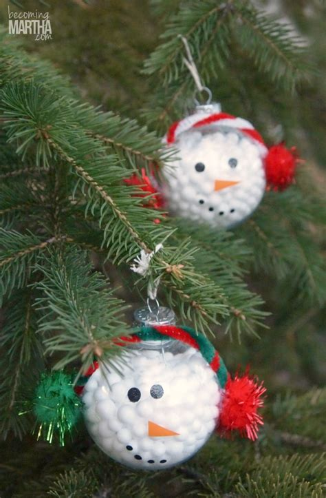 snowman decorations to make 31 easy cheap crafts for
