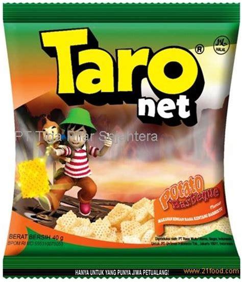 taro net potato barbeque flavor productsindonesia taro