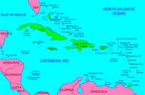 Caribbean Island Map by Pics Photos Maps Caribbean Islands