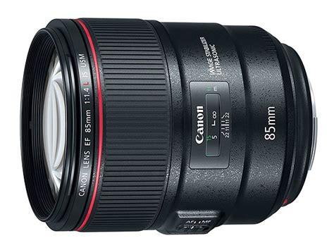 Canon Ef 85mm F 1 8l Usm Hitam canon ef 85mm f1 4l is usm stabilised f1 4 lens