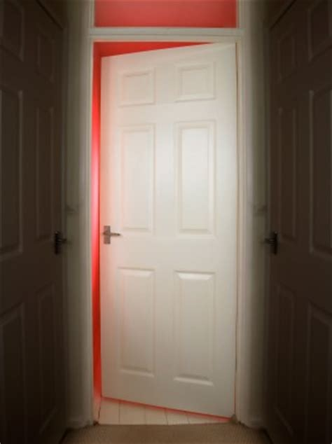 how to open a bedroom door the burning question should the door be open or closed