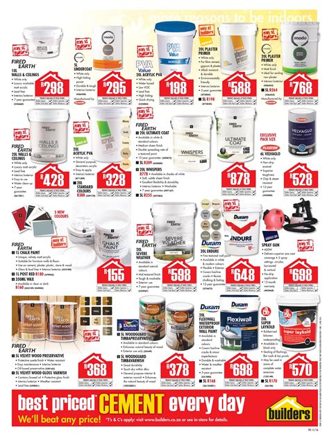 builders warehouse catalogue    june