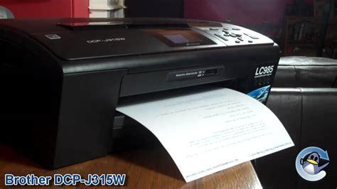 Printer Dcp J315w dcp j315w printer review
